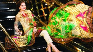 See Latest clicks of Armeena Rana Khan for Nishat Linen