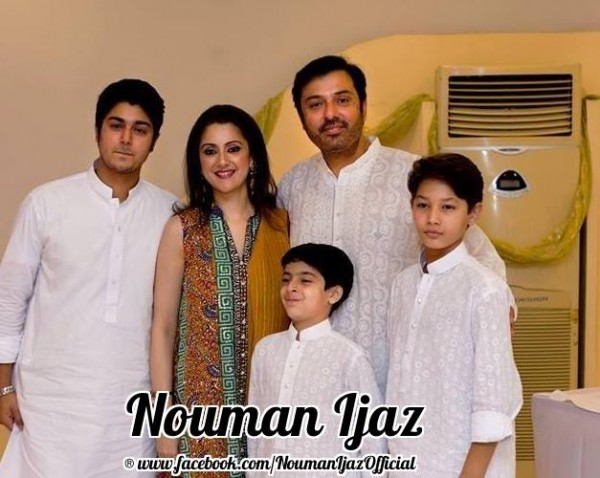Noman Ijaz wife and kids