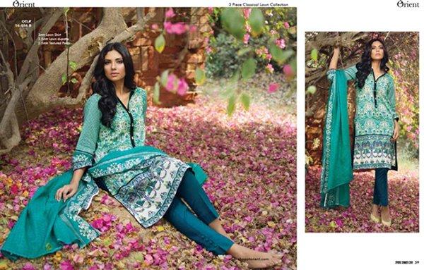 Orient Textiles Summer Dresses 2016 For Women0010