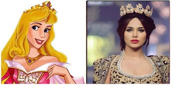 Pakistani Celebrities who look like a Disney Princesses.aura
