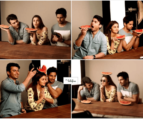 Photoshoot of Fawad Khan for kapoor and sons Poster.3