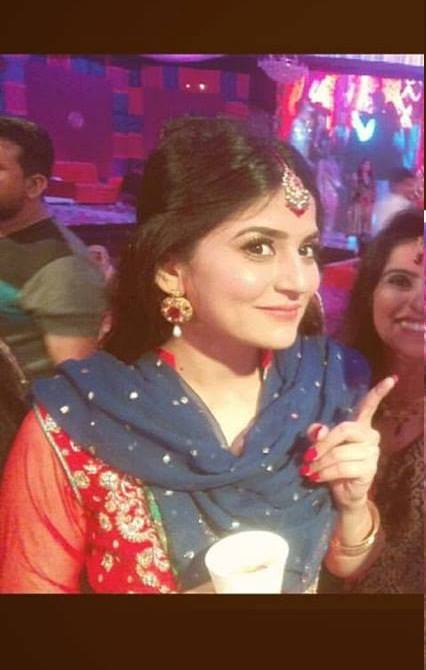 Sanam Baloch at her Brother's Wedding (13)