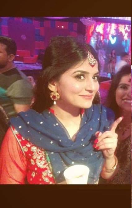 Sanam Baloch at her Brother's Wedding (13)
