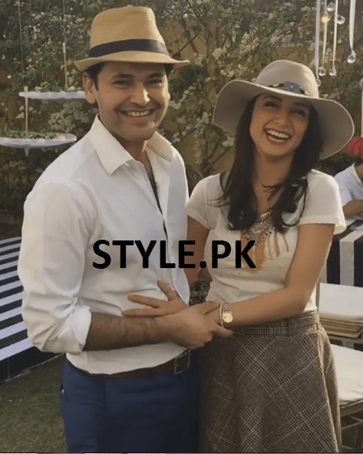 Sarwat Gillani and Fahad Mirza on Valentines