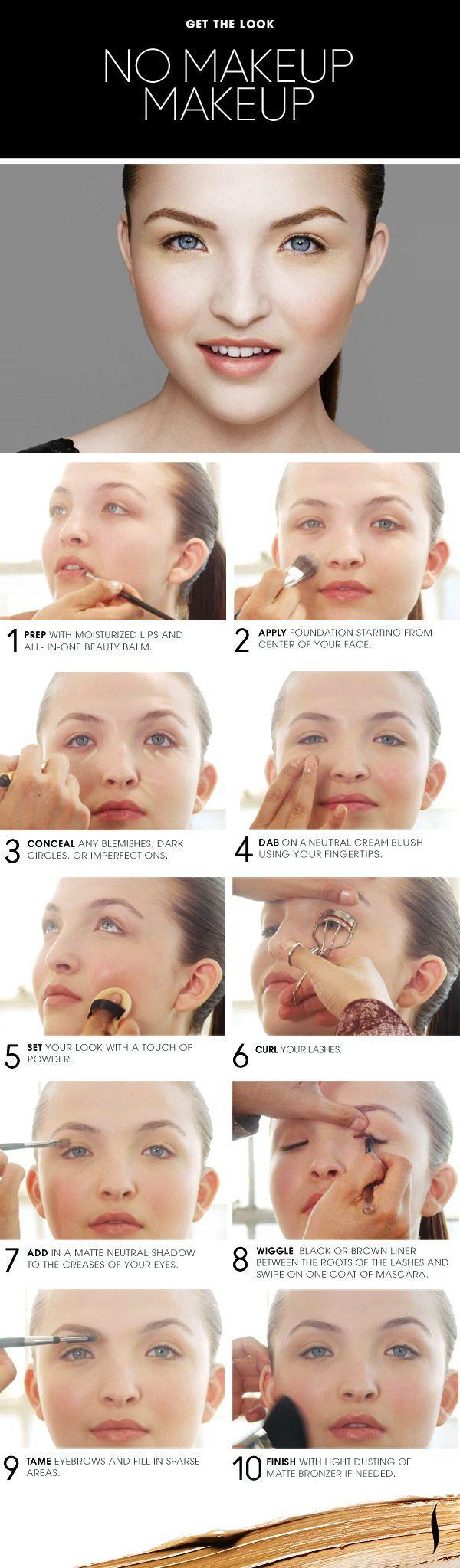 No Makeup Natural Makeup