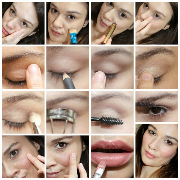natural everyday makeup video tutorial images