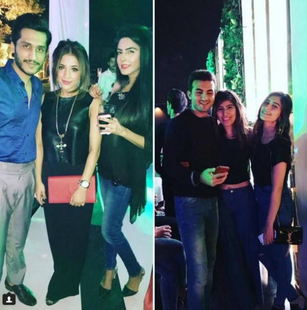 saira shehroz party