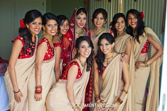 wedding bridesmaid dresses ideas. saree