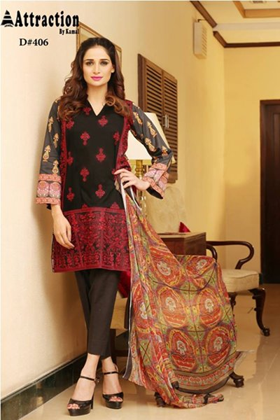 Attraction By Kamal Summer Dresses 2016 For Women0010
