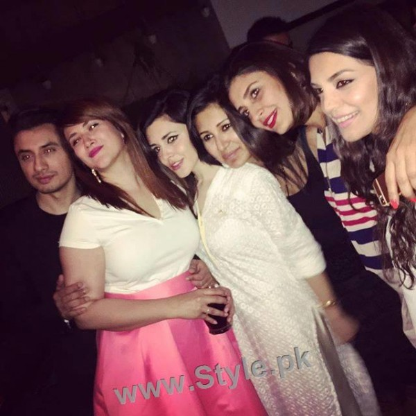 See Birthday Party of Ali Zafar's wife