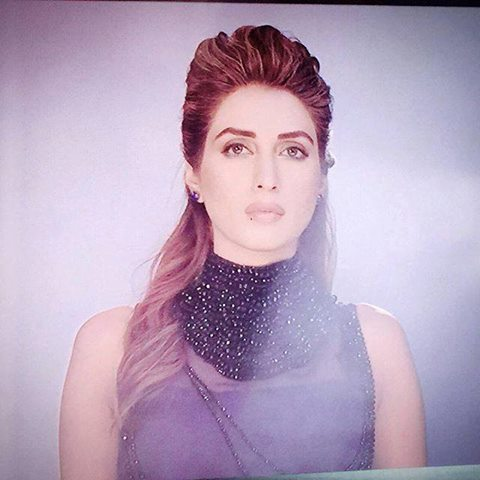 Iman Ali and Farhan Saeed are appearing together as couple  (1)