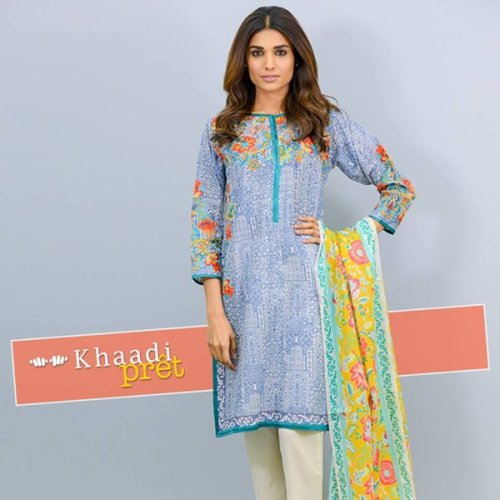 Khaadi Pret Wear Dresses 2016 Volume 2 For Women003