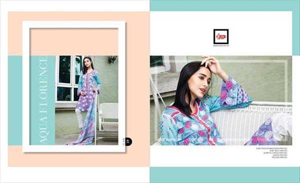 LSM Fabrics Summer Dresses 2016 For Women0011