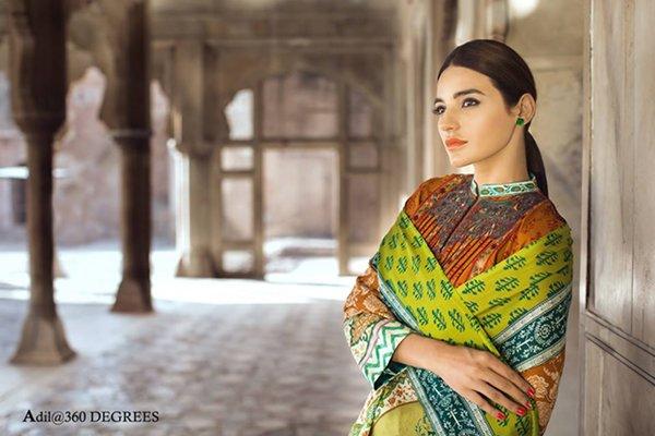 Madni Textiles Lawn Dresses 2016 For Women0010
