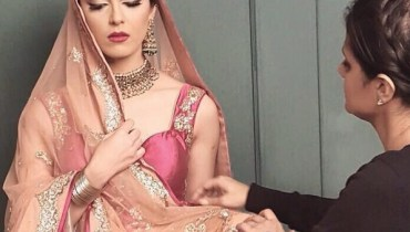 See Maya Ali's Photoshoot for a salon