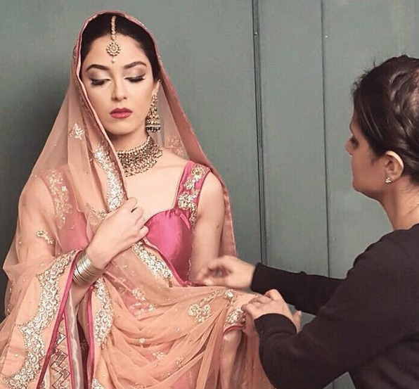 See Maya Ali's Photoshoot for a salon