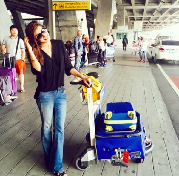 Mehwish Hayat in Bangkok