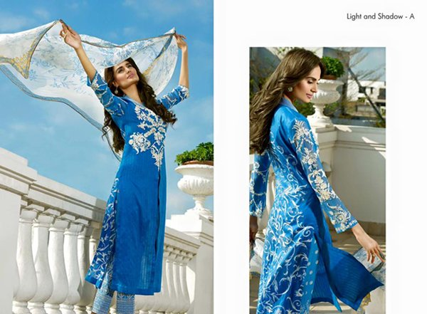 Nilofer Shahid By Ittehad Textiles Lawn Dresses 2016 For Women