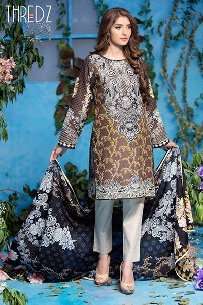 Thredz Lawn Dresses 2016 For Women0017