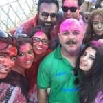pakistani celebrities celebrating Holi