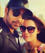Faysal Qureshi With Wife In Dubai