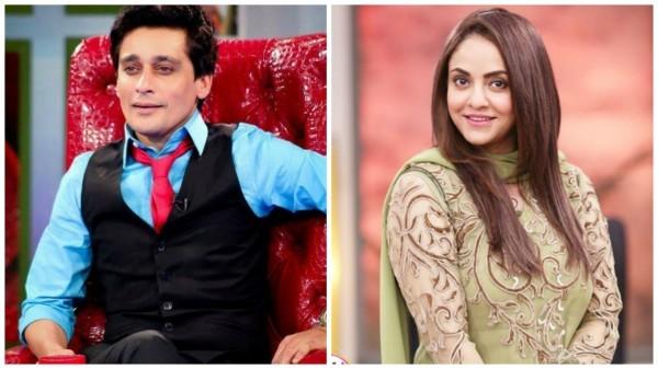 See Nadia Khan's blunt question left Sahir Lodhi Speechless