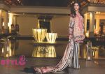 Nargis Fakhri Model For Shehla Chatoor Luxury Lawn 2016 by Shariq Textiles