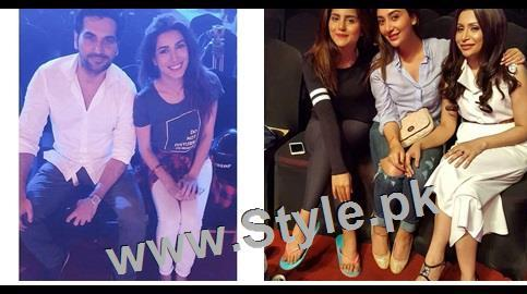 See Pakistani Celebrities at rehearsals of 4th HUM Awards 2016 in Dubai
