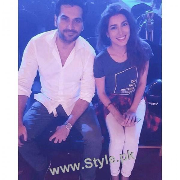 Pakistani Celebrities at rehearsals of 4th HUM Awards 2016 in Dubai (2)