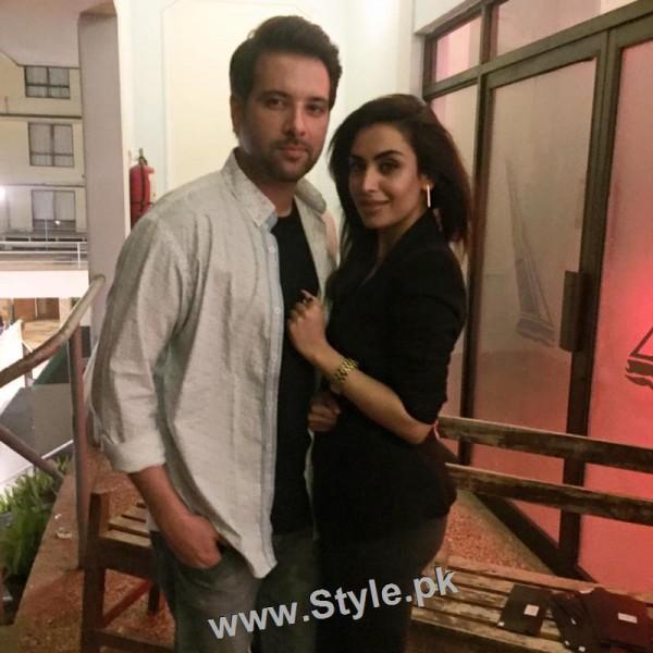 Pakistani Celebrities at the Launch of International Watch brand (2)