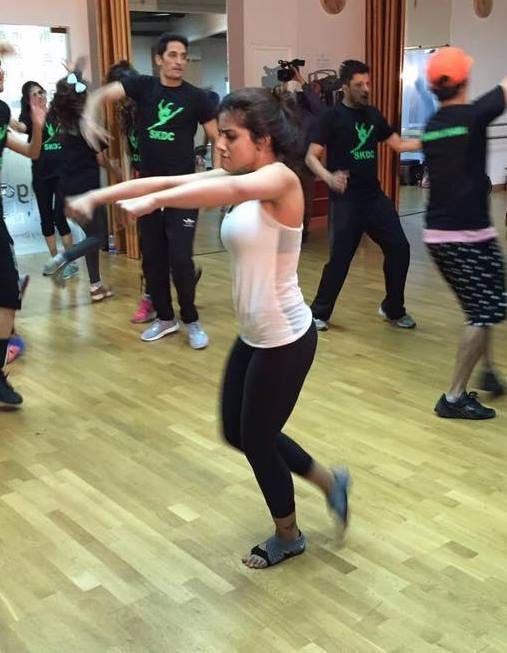 Sohai Ali Abro during rehearsals of Ary Film Awards 2016 in Dubai (4)