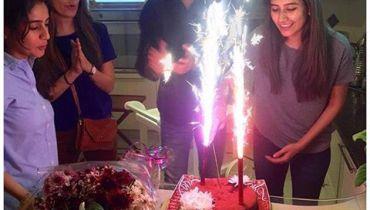 See Syra Sheroz's 28th Birthday Celebrations