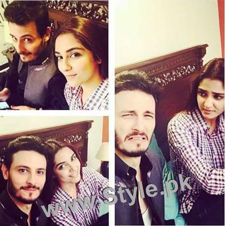 Top 10 Pictures of on screen couple Maya Ali and Osman Khalid Butt (8)