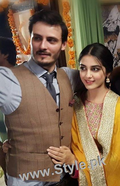 Top 10 Pictures of on screen couple Maya Ali and Osman Khalid Butt (9)