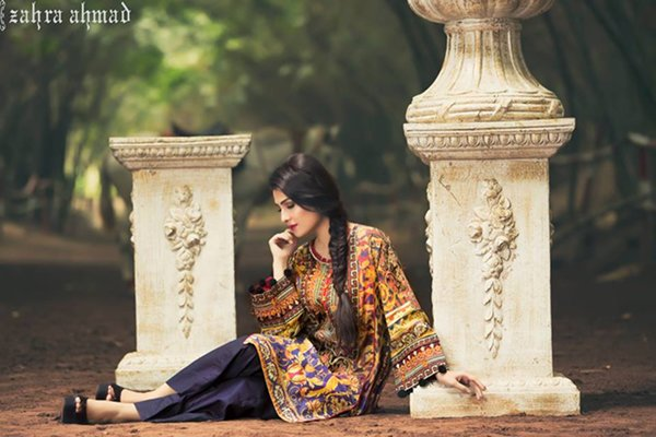 Zahra Ahmad Lawn Dresses 2016 For Women0011