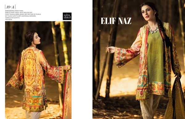 Zahra Ahmad Lawn Dresses 2016 For Women005