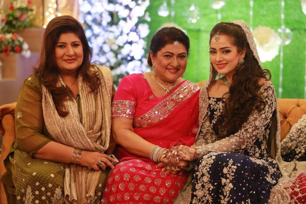 Ahmed Hassan and Nousheen Ibrahim' Reception pictures (10)