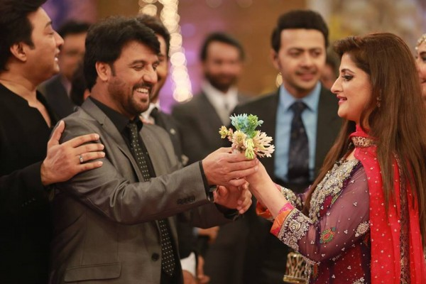 Ahmed Hassan and Nousheen Ibrahim' Reception pictures (7)