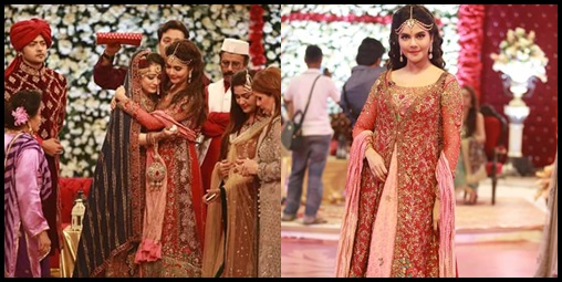 See Ahmed Hassan and Nousheen Ibrahim's Grand Wedding in Good Morning Pakistan
