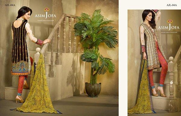 Asim Jofa Summer Dresses 2016 For Women007