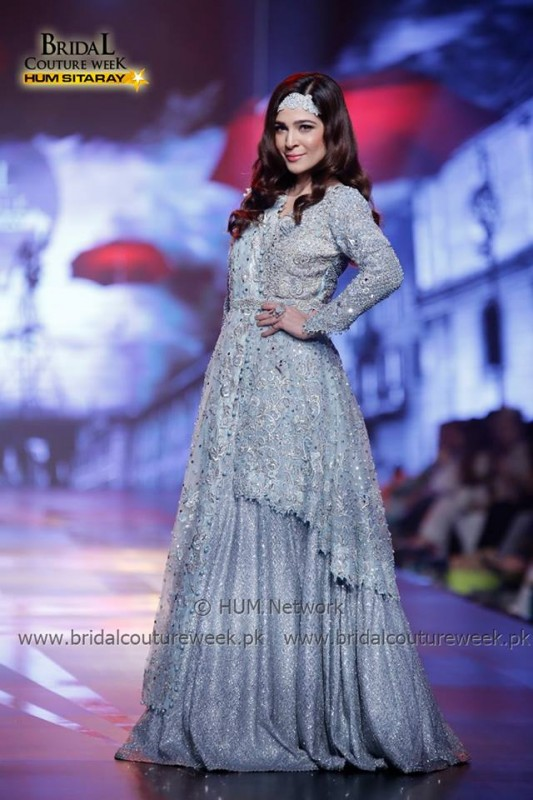 Ayesha Omer at Bridal Couture Week