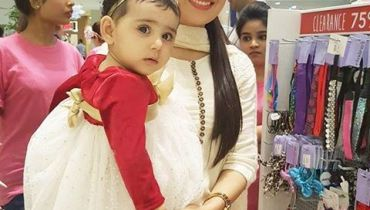 See Ayeza Khan with her daughter in Mother's Day special Event