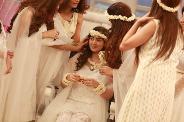See Bridal Shower celebrated in Good Morning Pakistan