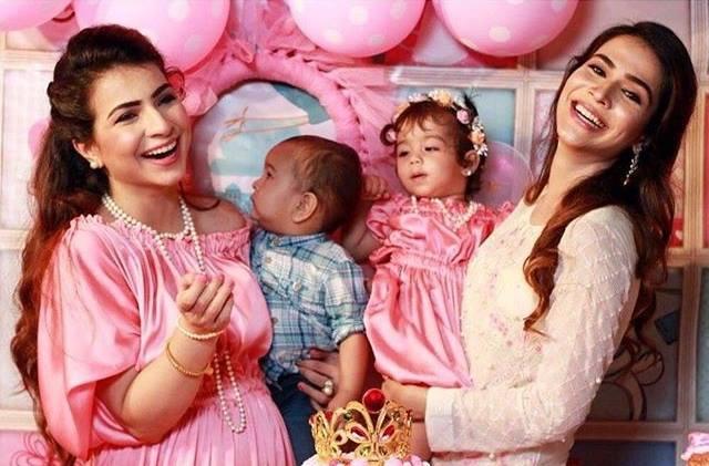 See Humaima Malick arranged a birthday party for her niece Ziyara Malik