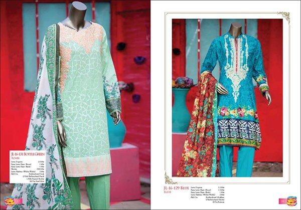 Junaid Jamshed Eid dresses 2016 For Women01