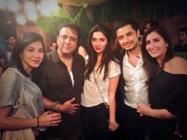 Mahira Khan with Govinda