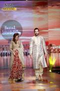 Mansha Pasha and Tipu at Bridal Couture Week
