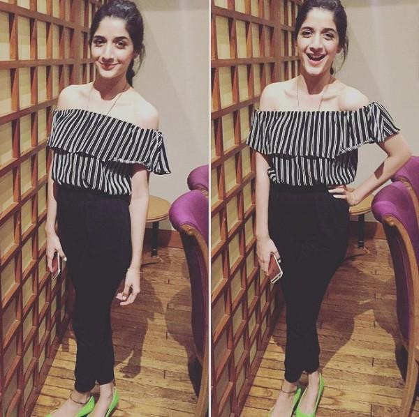 Mawra Hocane In Strapless Dress