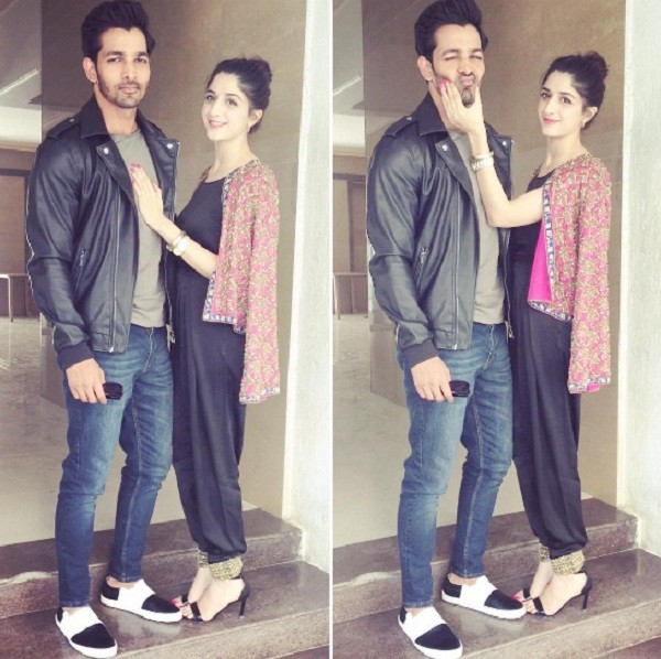 Mawra Hocane with Harshvardhan Rane