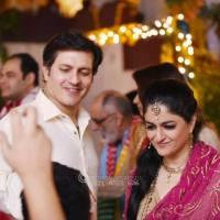Dancing with husband Nadia Jamil